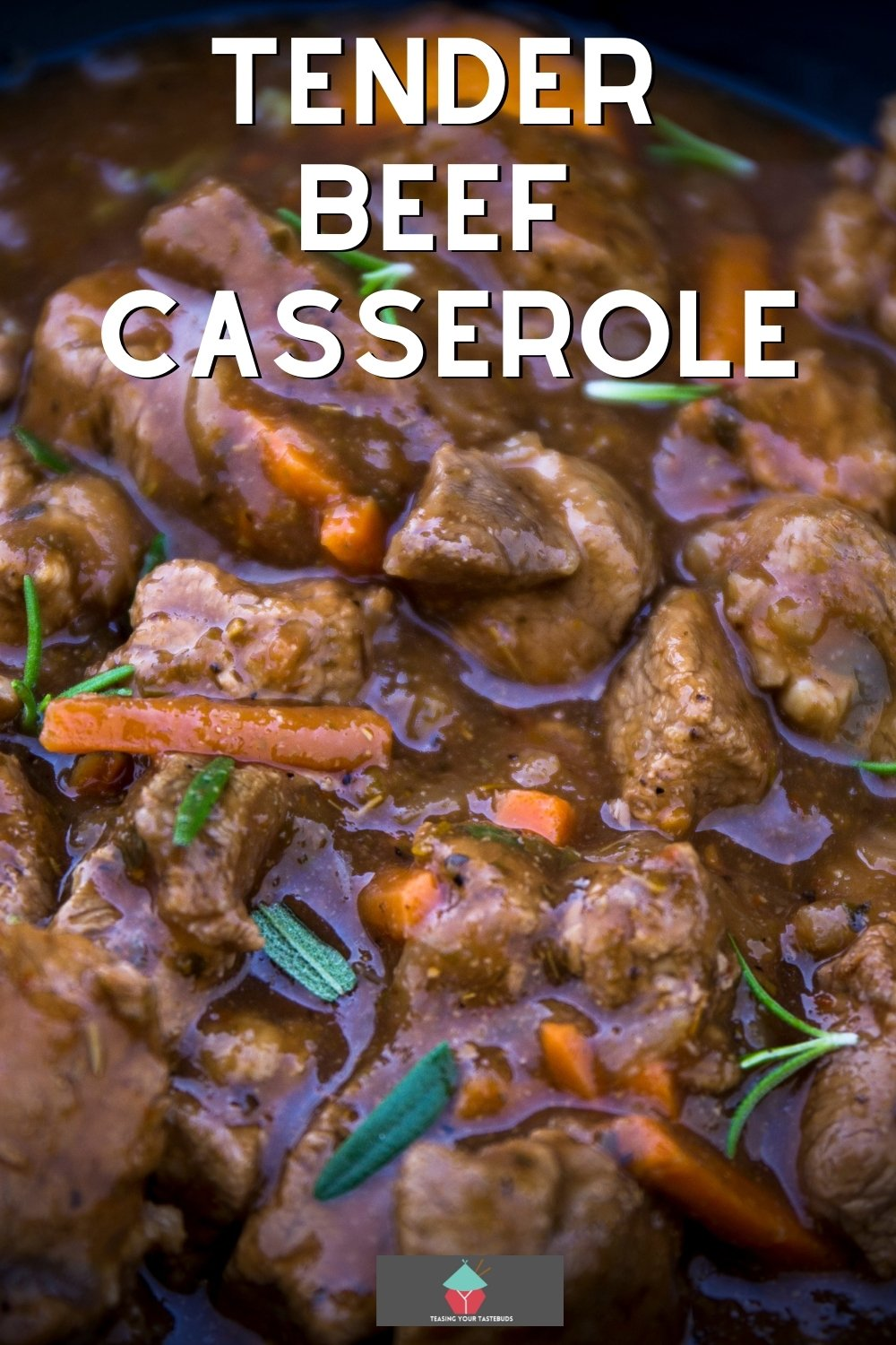 Tender Beef Casserole. Homemade delicious tender beef casserole, using fresh ingredients, full of flavor. Recipe for stove top, oven, slow cooker. A perfect dinner on a cold day!