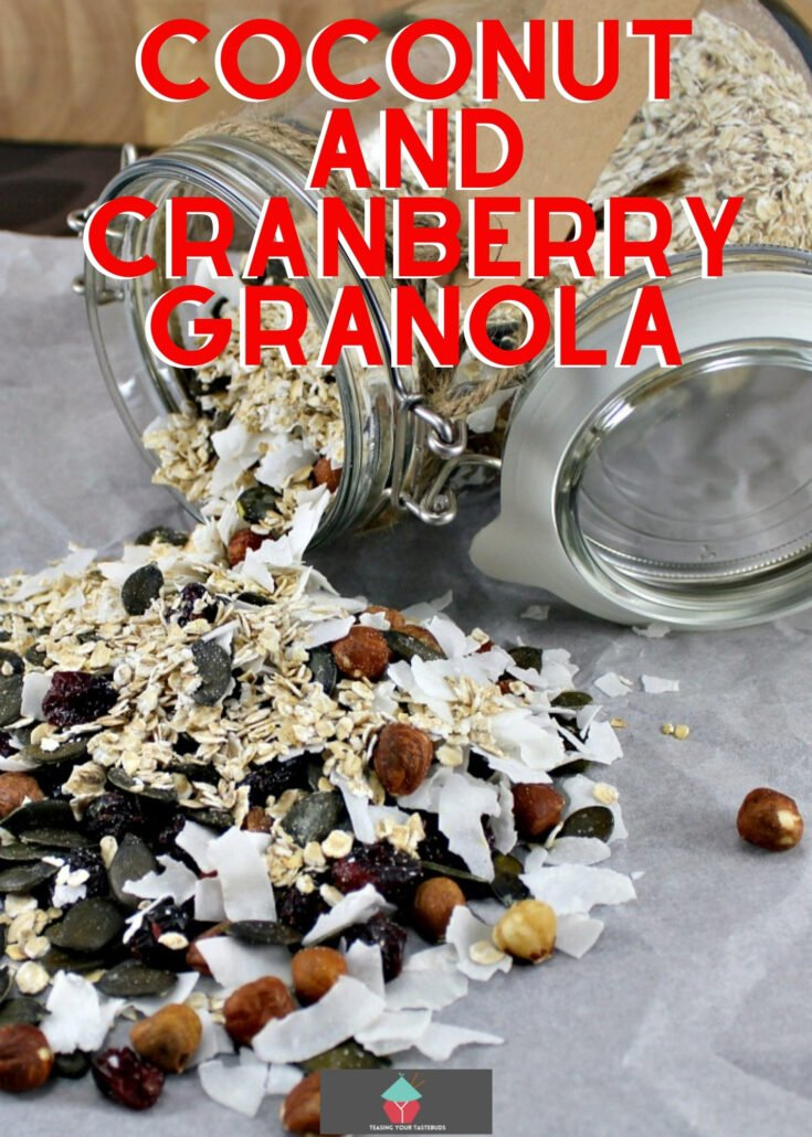 Coconut and Cranberry GranolaH