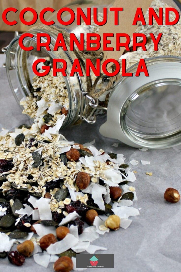 Coconut and Cranberry GranolaP1