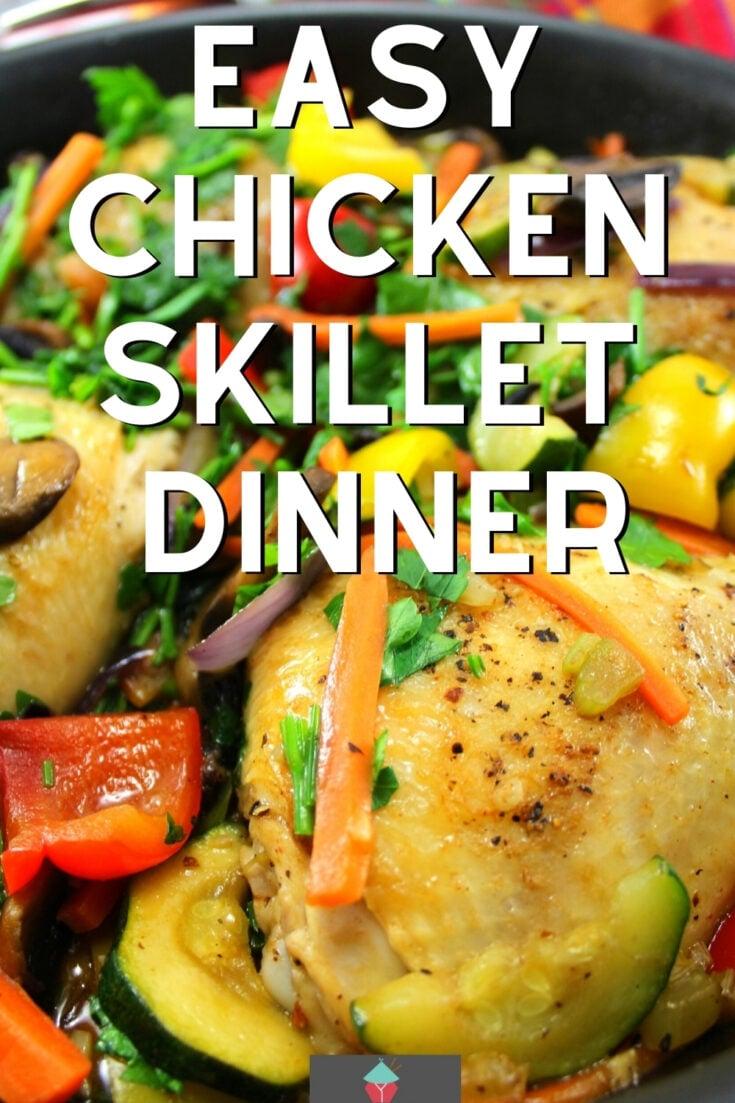 Easy Chicken Skillet DinnerP1