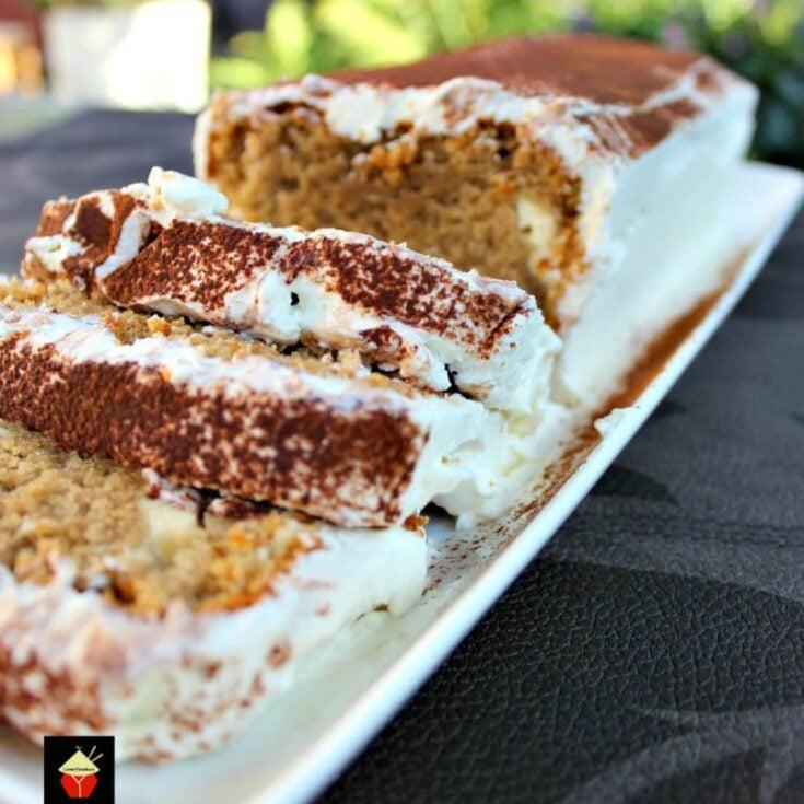 Tiramisu Pound CakeF