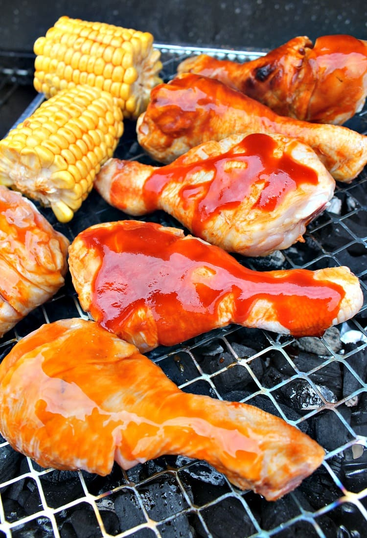 Zach's Grilled Chicken using a variety of flavors simply out of this world! Easy marinades, simply spray as you grill!