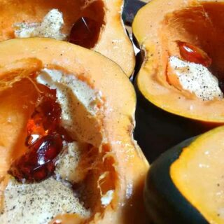 Roasted Maple Jelly Squash