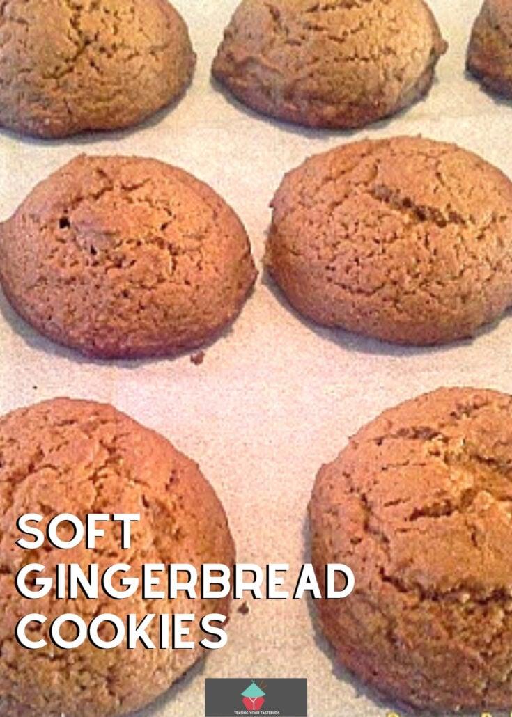 Soft Gingerbread CookiesH