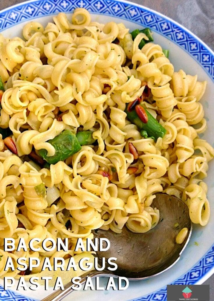 Bacon and Asparagus Pasta SaladH