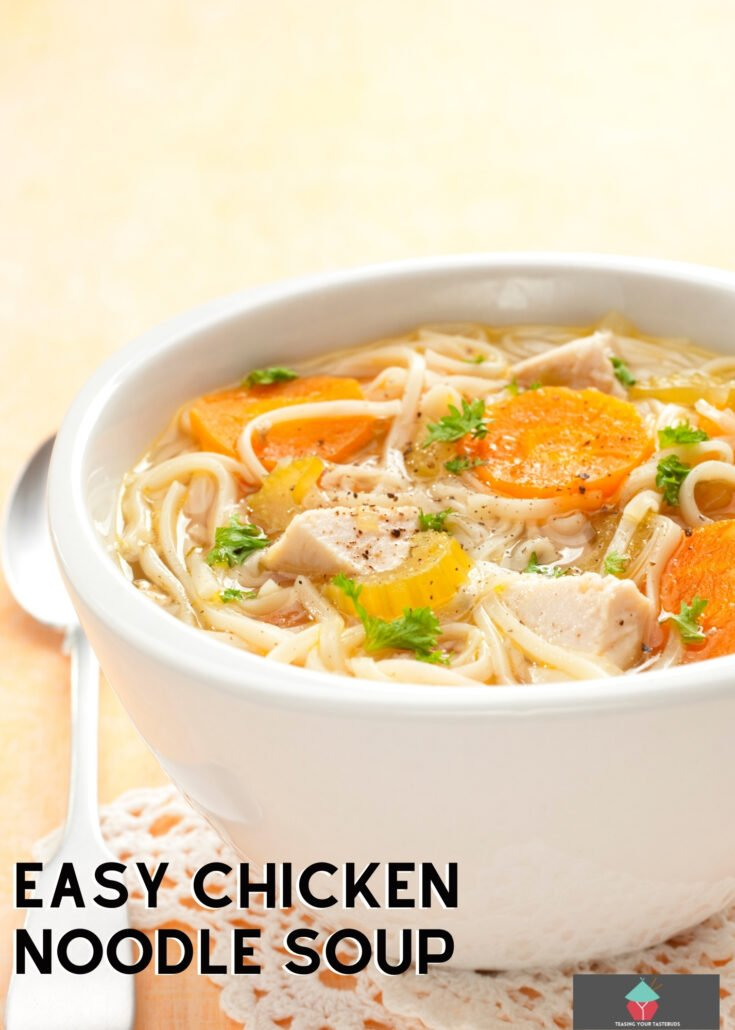 Easy Chicken Noodle SoupH