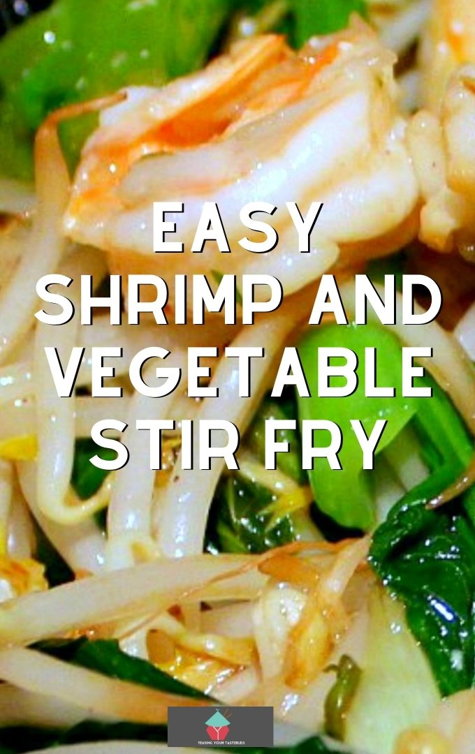 Easy Shrimp and Vegetable Stir Fry, additions of tofu, shrimp, and lovely Chinese vegetables quickly cooked in a delicious Asian sauce makes for a fantastic dinner