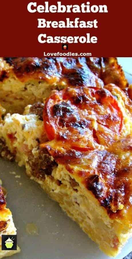 Celebration Breakfast Casserole PTLc