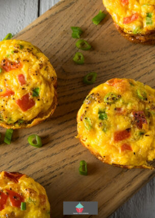 Egg Breakfast Muffins are super light,filled with a variety of staple ingredients. Easy and quick to mke, always a hit at breakfast and snack times!