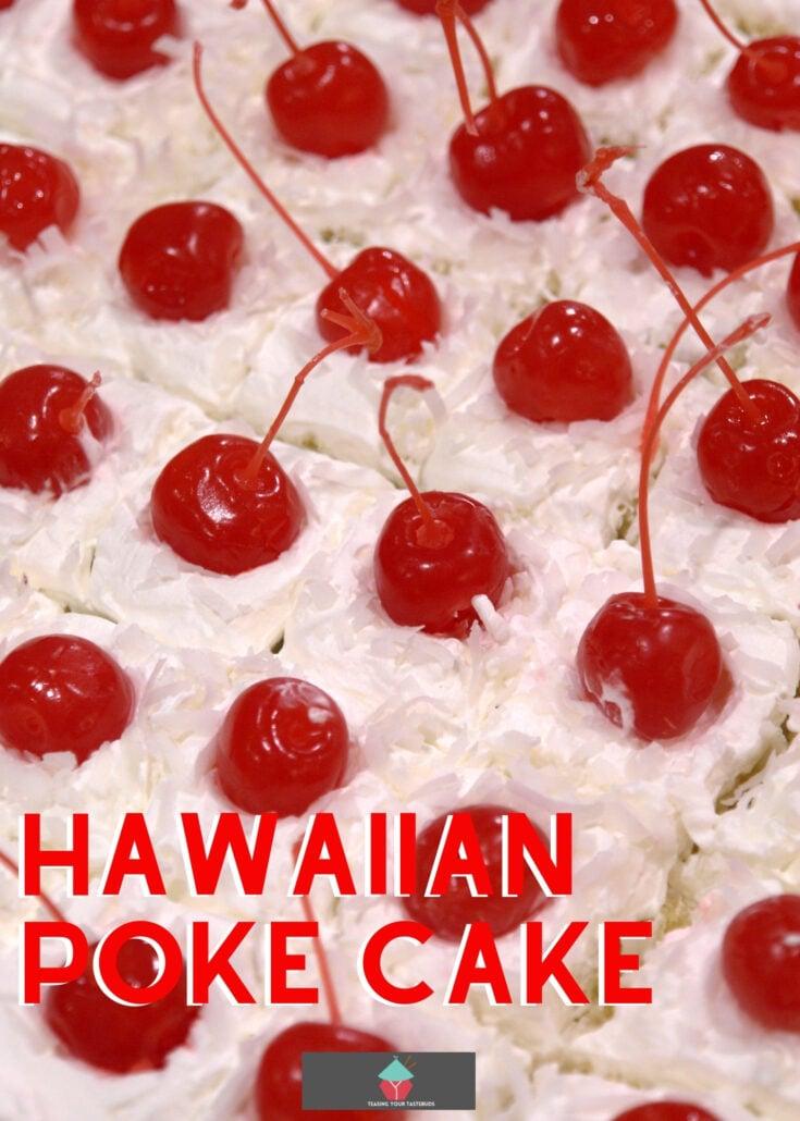 Hawaiian Poke CakeH