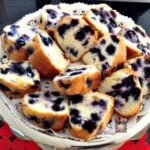 Nanny's Blueberry Bundt Cake