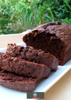 Double Chocolate Zucchini Bread. A deliciously soft, moist, double chocolate zucchini bread recipe, made from scratch. Ideal for breakfast, brunch or with a cup of tea! Easy to make loaf cake