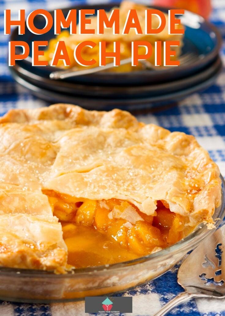 Homemade Peach PieH 1
