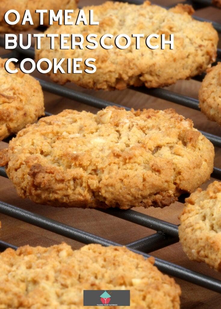 Oatmeal Butterscotch CookiesH