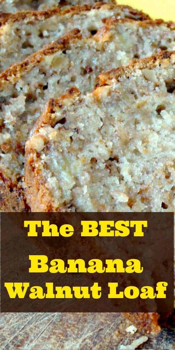 The BEST Banana Walnut Loaf P2