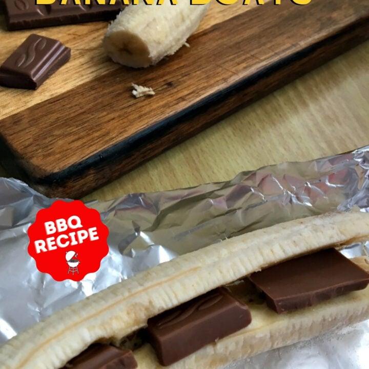 Chocolate Banana Boats
