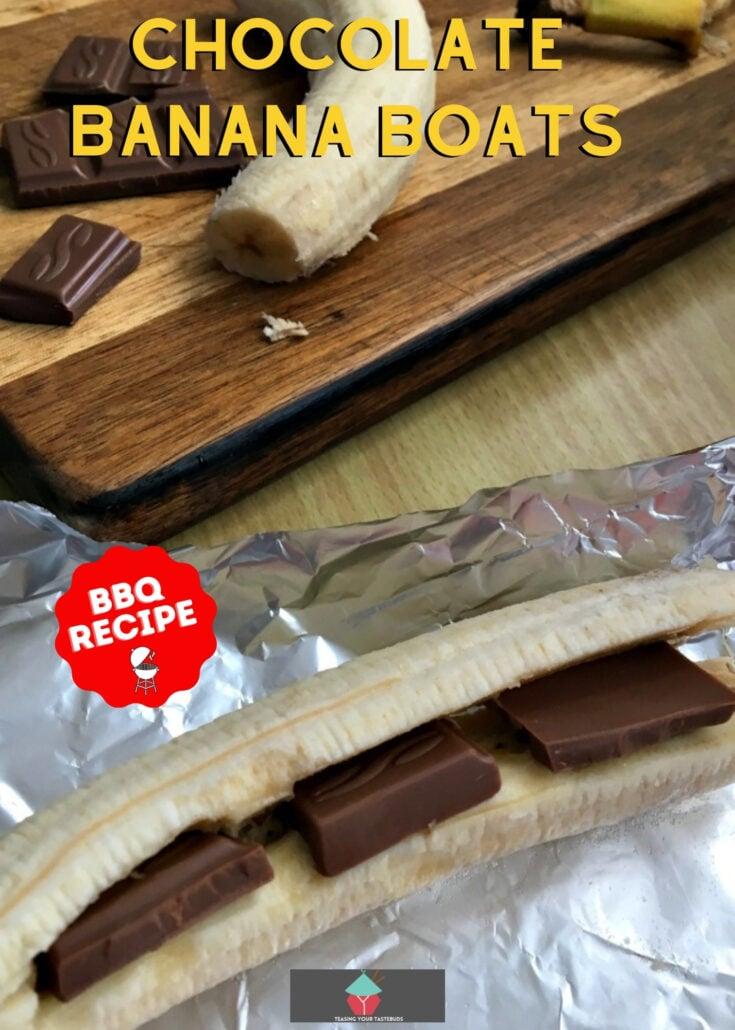Chocolate Banana BoatsH