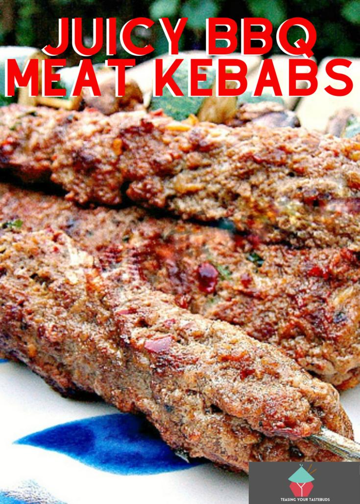 Juicy BBQ Meat KebabsH
