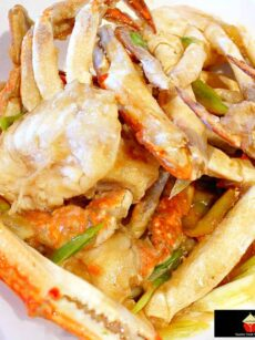 Chinese Crab with Scallions and Ginger! A great tasting seafood dish full of flavor and easy to make