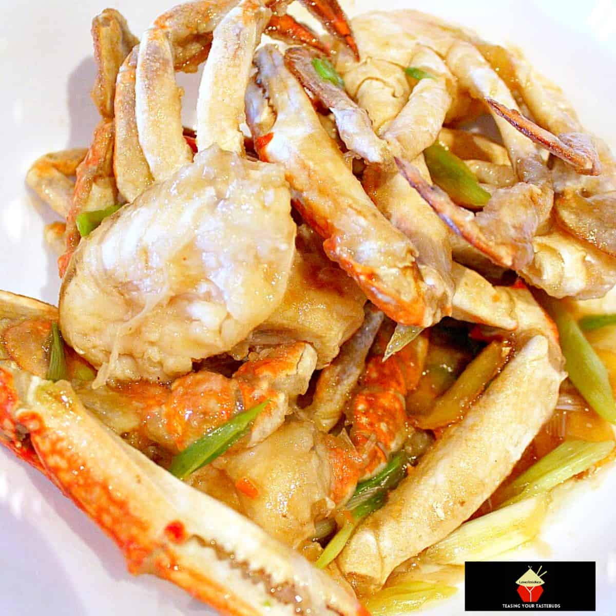 Chinese Crab with Scallions and GingerF