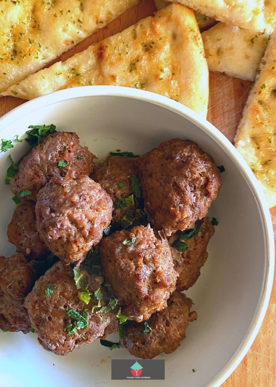 Juicy Homemade Meatballs are full of flavor, juicy, and simply delicious. These homemade meatballs are always a hit with the family. Here I've used some great ingredients to keep these super moist and of course really packed with flavor. Great to serve as party food or have as a dinner with some mash and gravy!