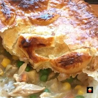 Left Over Roast Chicken Pot Pie