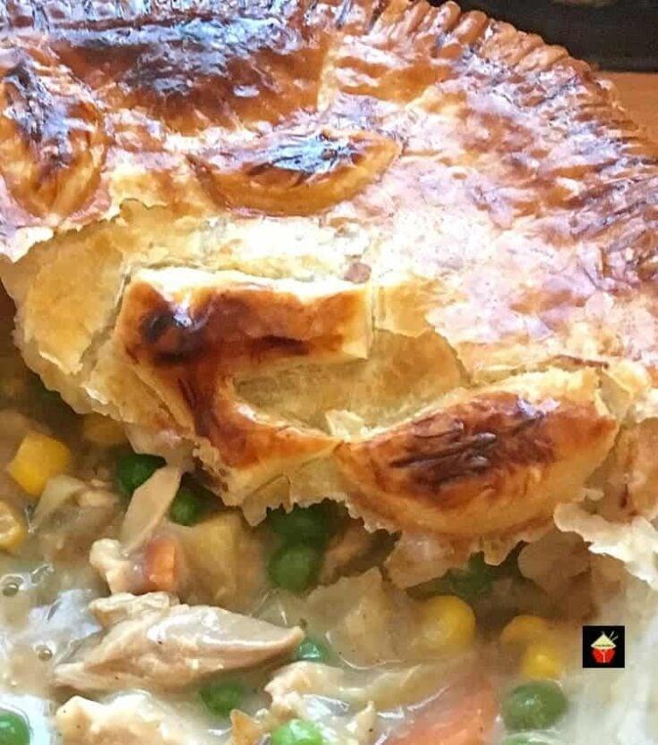 Left Over Roast Chicken Pot Pie