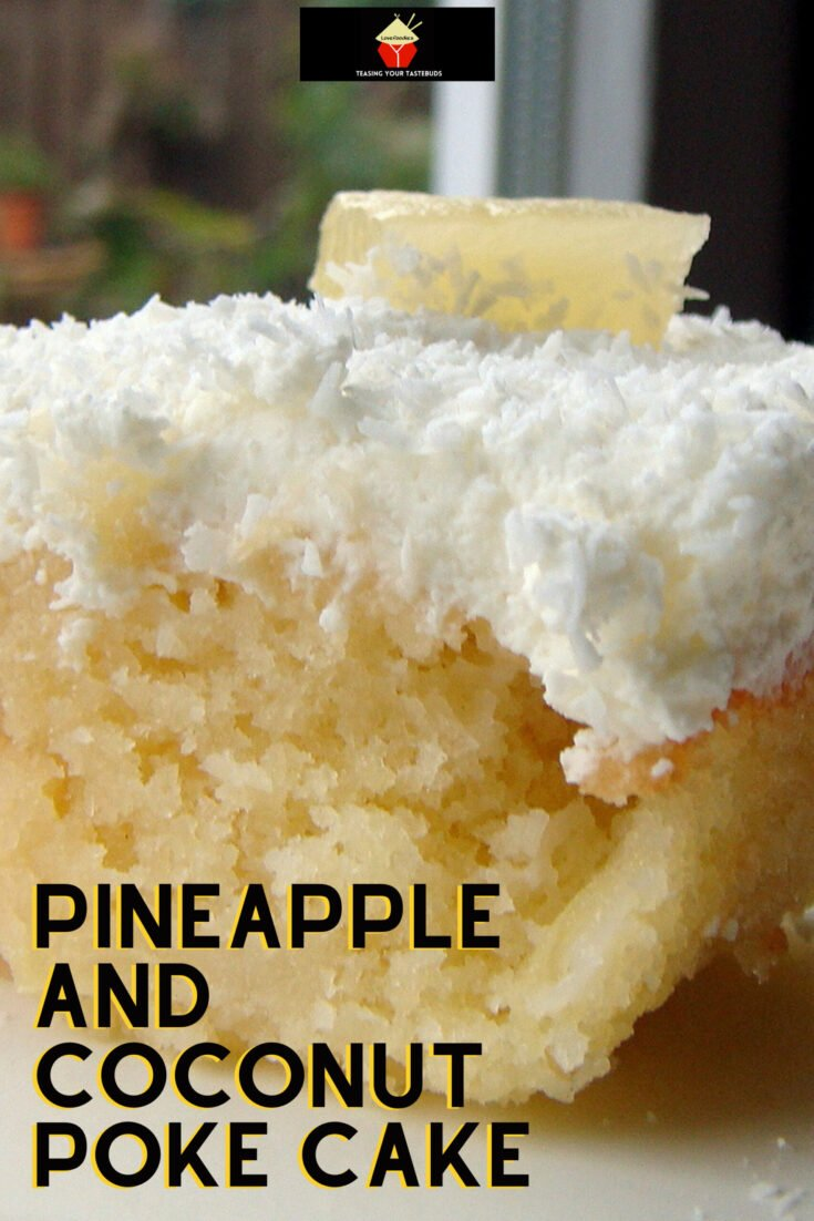 Pineapple and Coconut Poke CakeH scaled