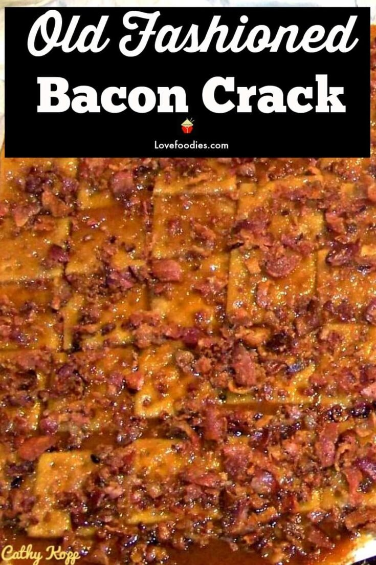 Bacon Crack. A.K.A Bacon Saltine Cracker Candy. If you've never tried this you're missing out!
