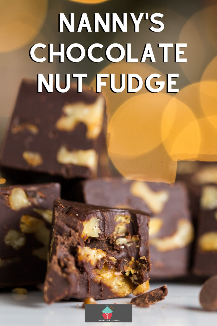 Nannys Chocolate Nut FudgeP1