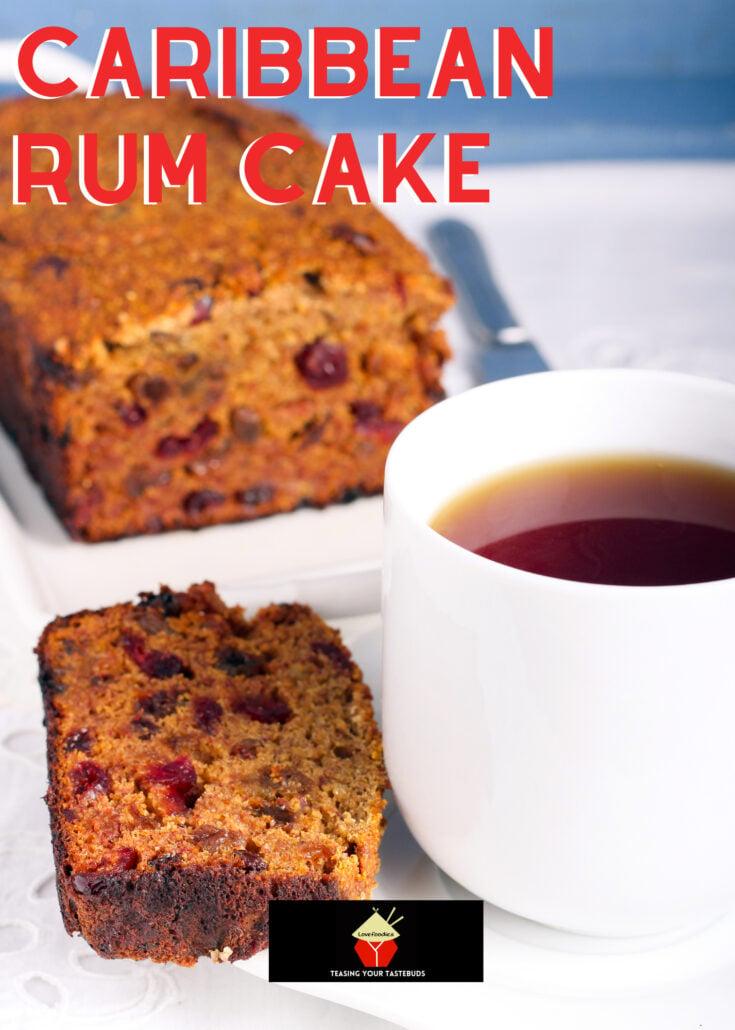 Caribbean Rum CakeH