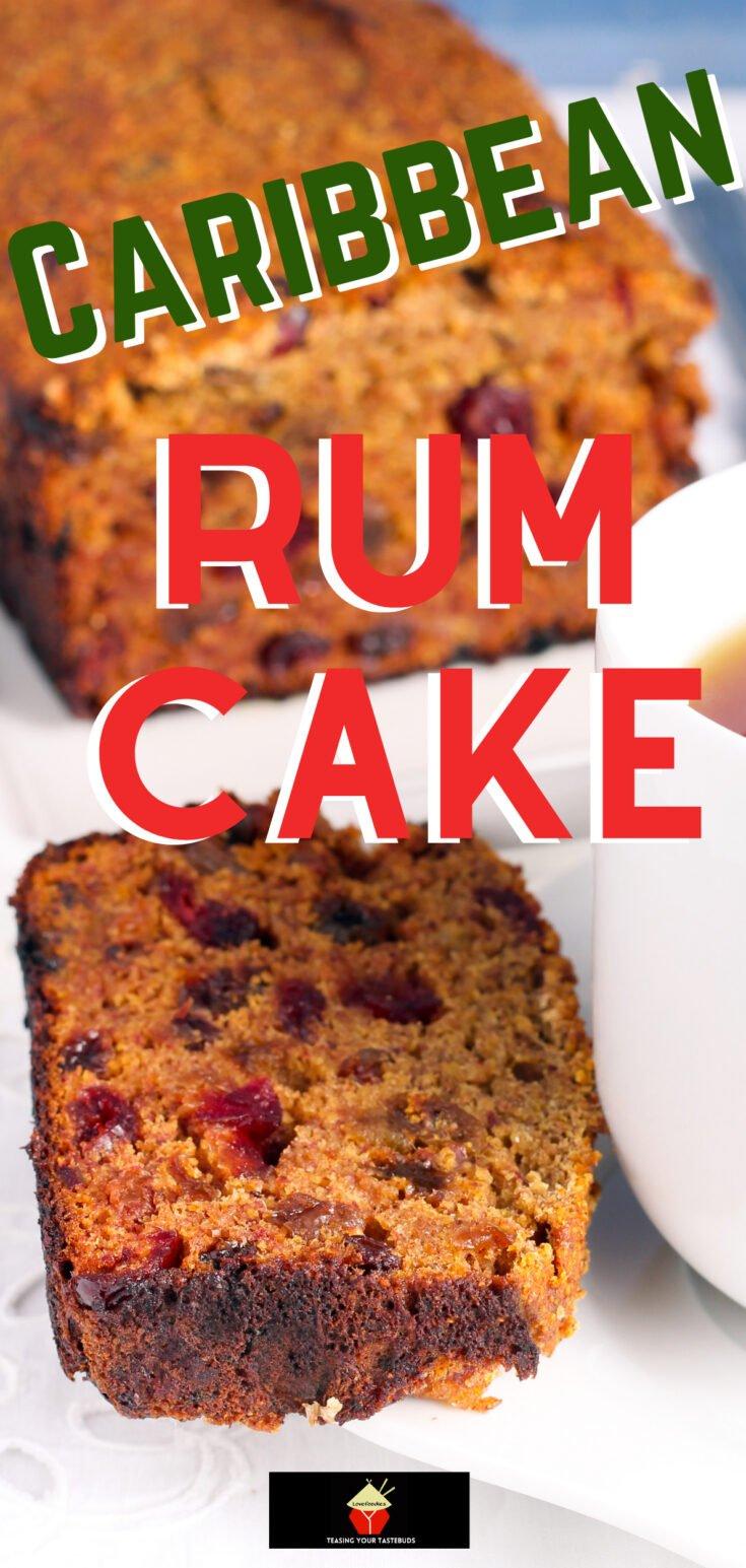 Caribbean Rum CakeP1