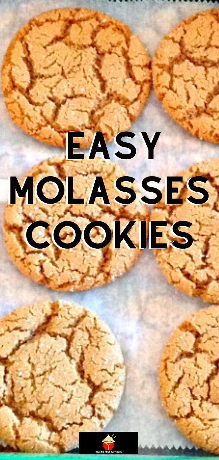 Easy molasses cookiesP2