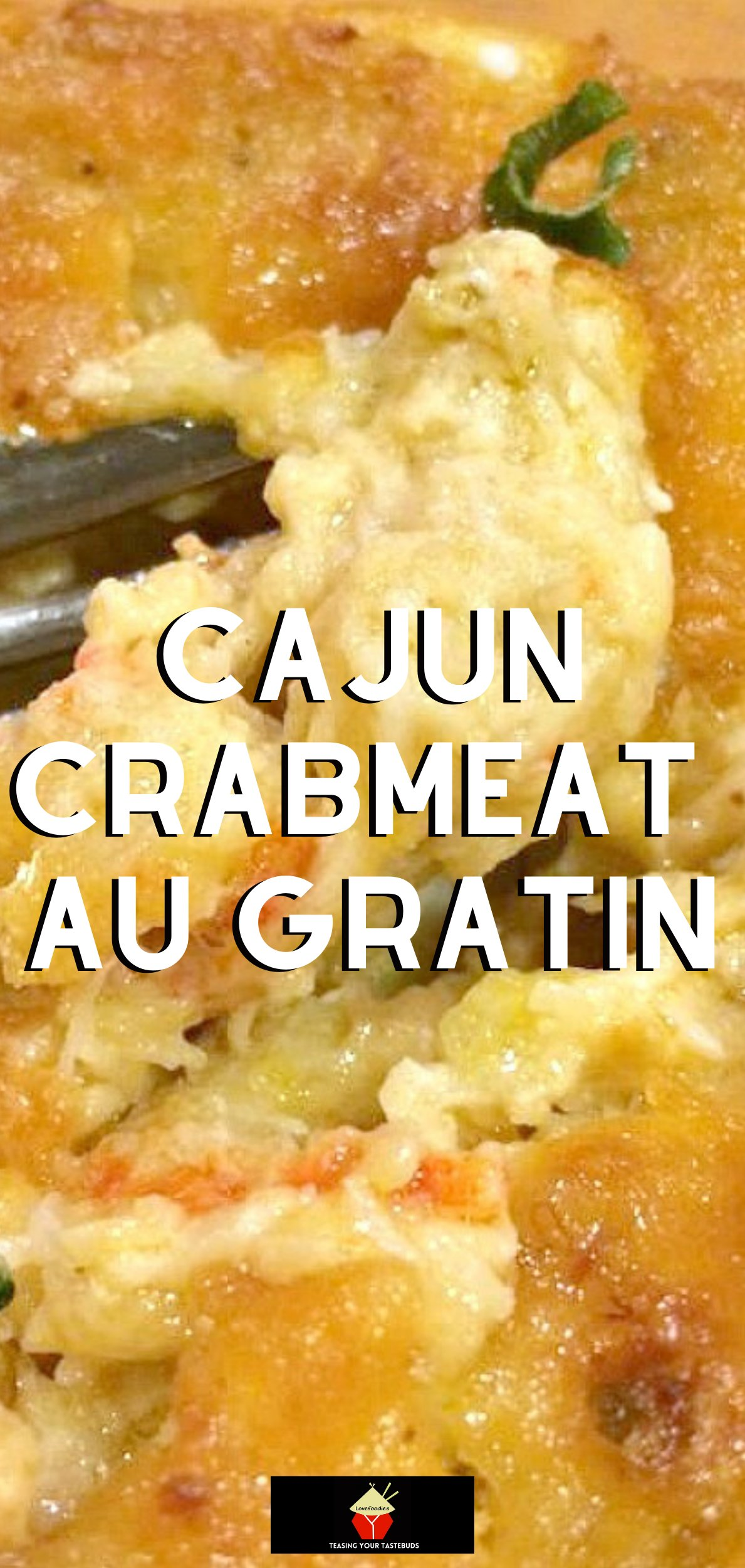 Cajun Crabmeat Au Gratin. A truly delicious recipe full of fantastic flavors. Options to add shrimp or crawfish too! Delicious served as an appetizer or main meal.