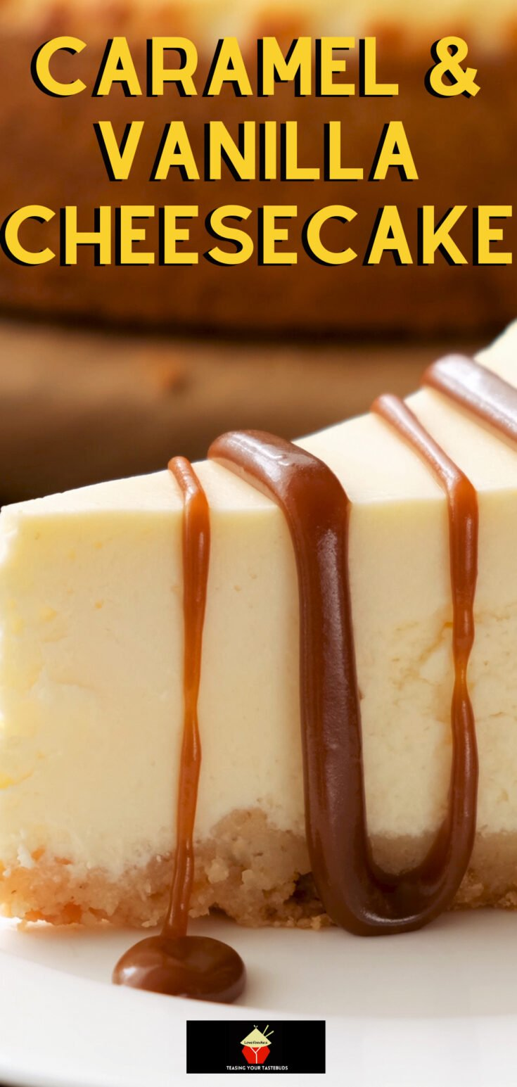 Caramel and Vanilla CheesecakeP2