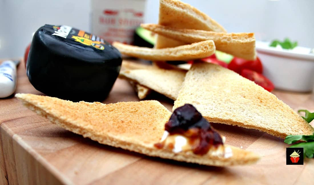 Easy Melba Toast is great for parties and makes a perfect homemade cracker, perfect for cheese, spreads, dips and cold cuts.