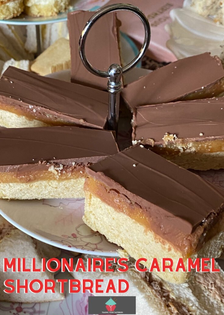 Millionaires Caramel ShortbreadH