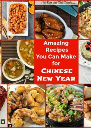 Amazing Recipes You Can Make for Chinese New Year, a great selection of appetizers, mains and desserts plus a few dim sum recipes for you to enjoy!