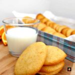 Grandma's War Time Orange Drop Cookies