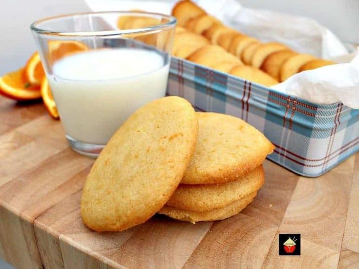 Grandma's War Time Orange Drop Cookies