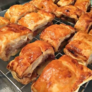 Sausage and Red Onion Chutney Rolls