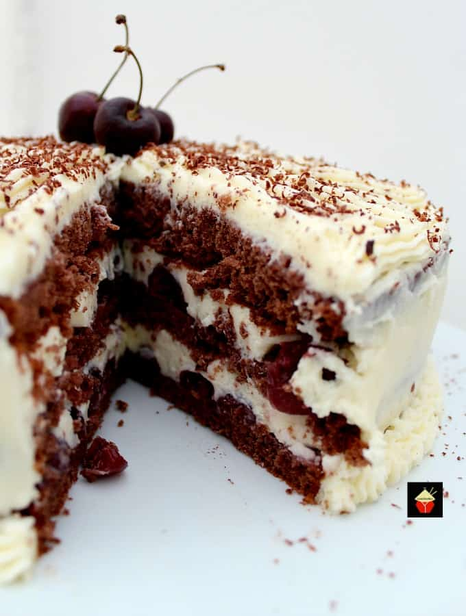 Easy Black Forest Cake Recipe Kirsch