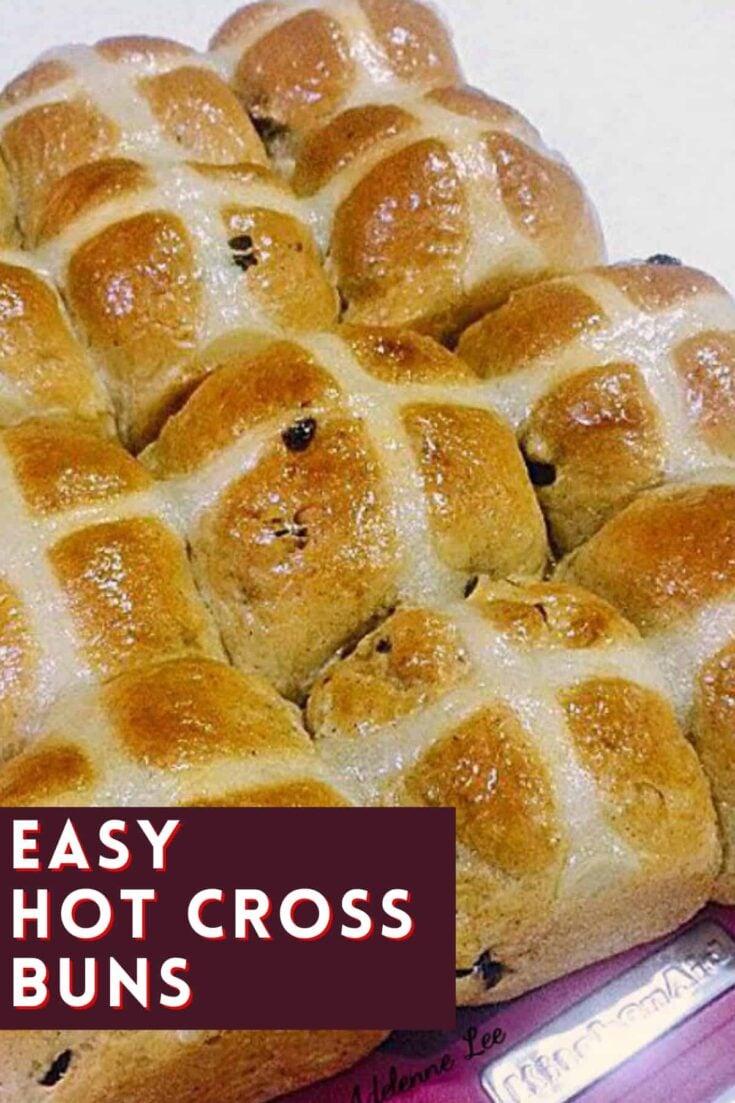 Easy Hot Cross BunsH