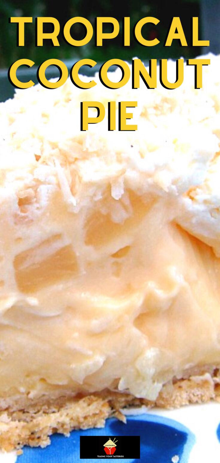 Tropical Coconut PieP1