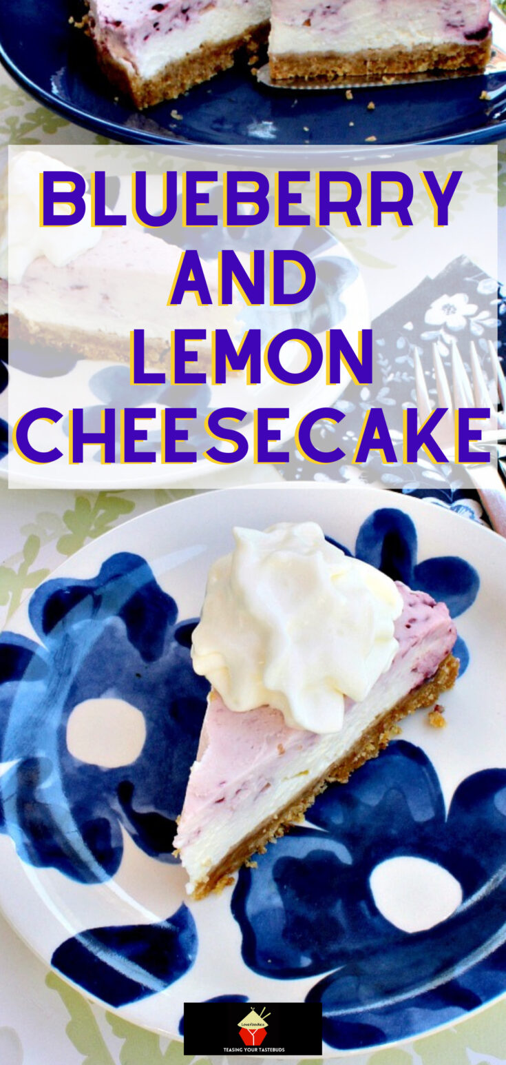 Blueberry and Lemon CheesecakeP1