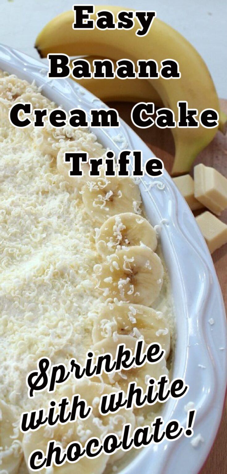 Easy Banana Cream Cake TrifleP2
