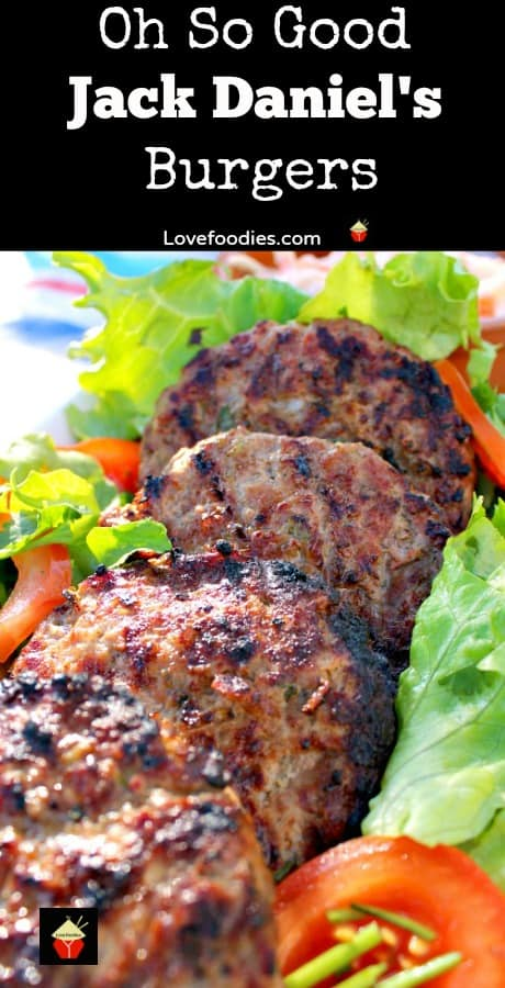 Oh So Good Jack Daniel's Burgers taste amazing! Easy to make and full of flavor to give you a delicious juicy burger. Perfect for BBQ's and parties. Freezer friendly too
