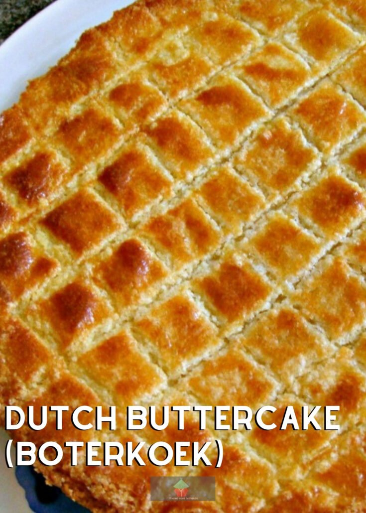Dutch Buttercake BoterkoekH