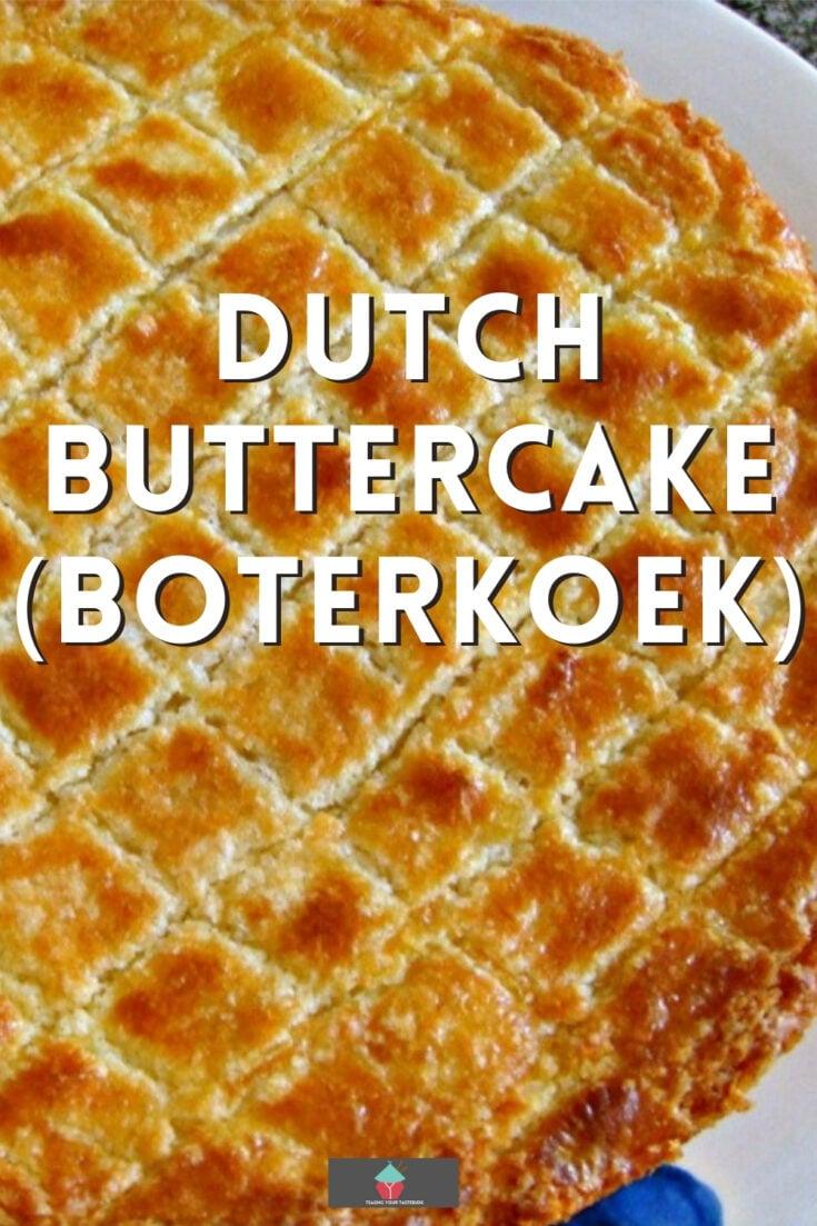 Dutch Buttercake BoterkoekP1