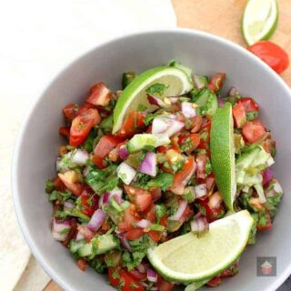 Best Ever Pico De Gallo, Salsa Fresca